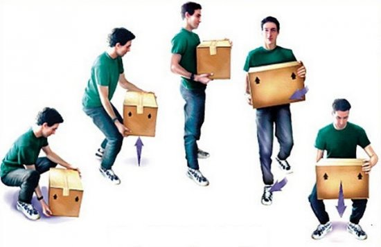 Безопасный способ поднимать тяжести