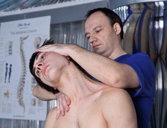 Мануальная терапия для шейного отдела