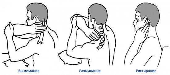 Самомассаж для шеи