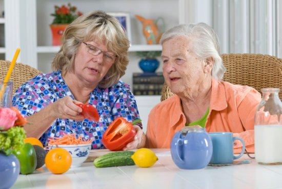 Здоровое питания для пожилых