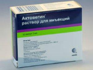 Актовегин при остеохондрозе шейного отдела