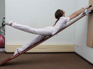 Упражнения для позвоночника на доске Евминова