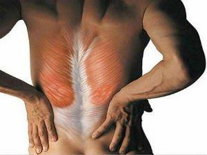 В тонусе мышцы спины остеохондроз