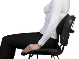 Ортопедическая подушка на стул для позвоночника