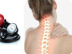 Давление при шейном остеохондрозе